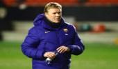 برشلونة يقترب من إقالة المدرب كومان