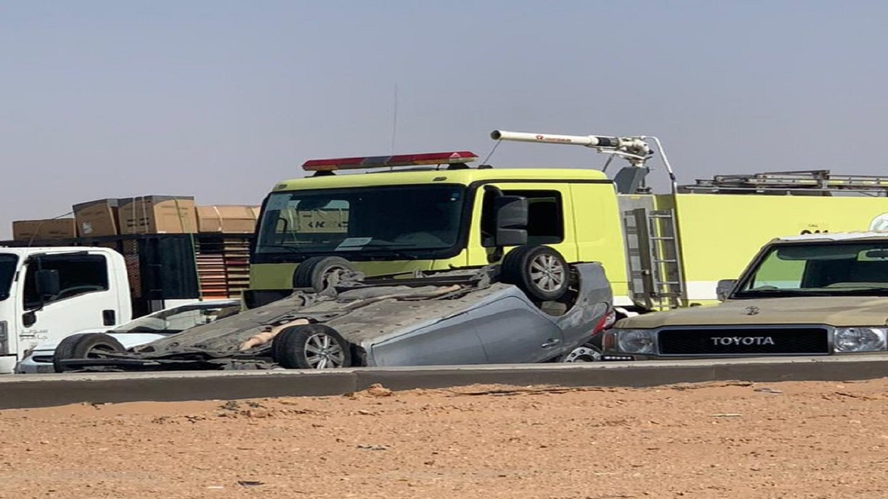 حادث مروري يعيق حركة السير على الدائري الغربي قبل الجسر المعلق