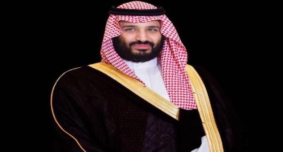 """ولي العهد يرزق بمولود جديد ويسميه """" عبدالعزيز """""""
