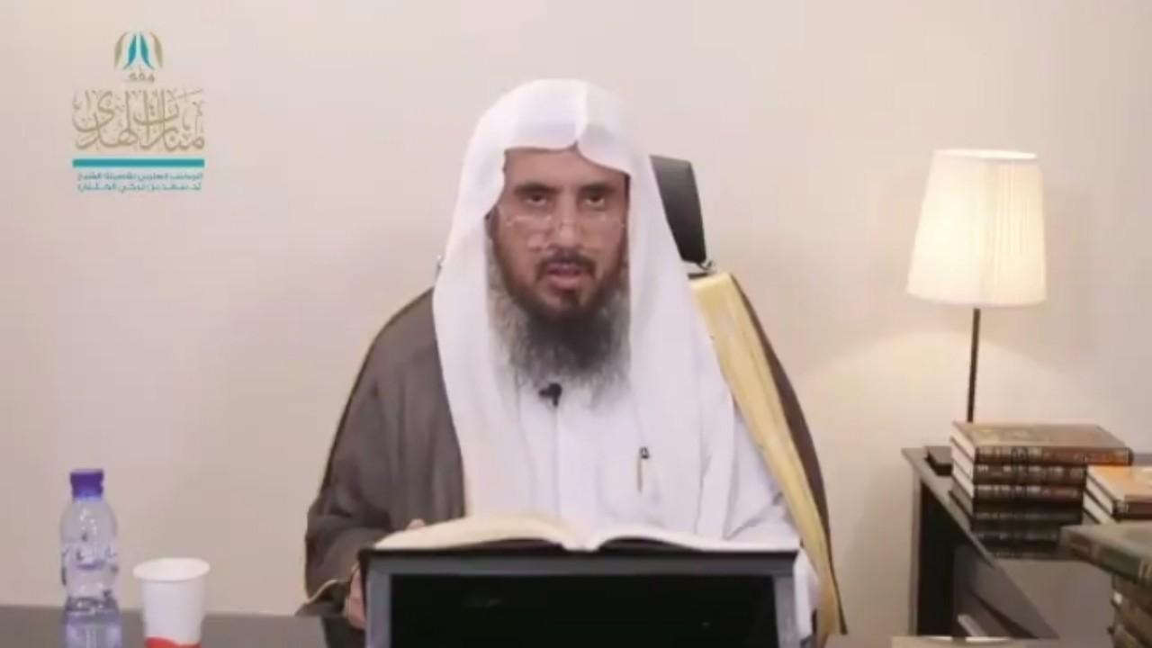 """بالفيديو.. الشيخ """" الخثلان """" يوضح حكم أن يصبح الصائم جنباً"""