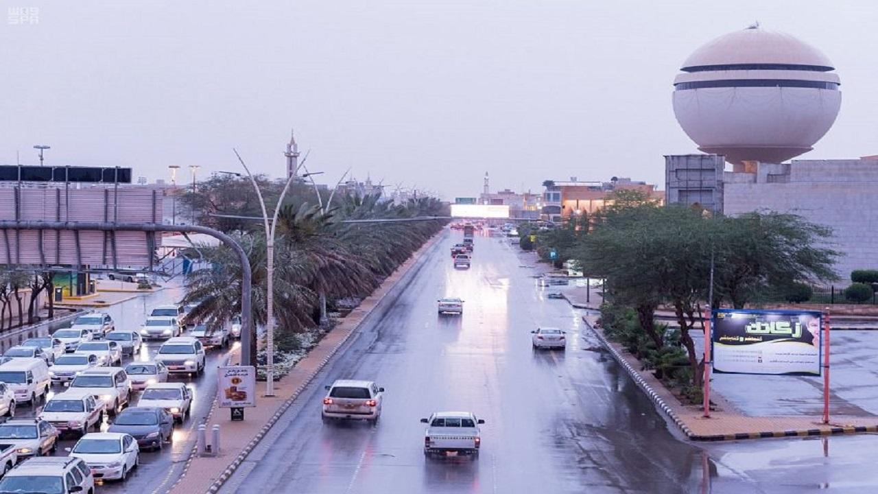 """""""المسند"""": هطول أمطار على بعض مناطق المملكة اليوم"""