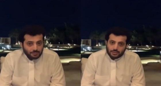 شاهد..تركي آل الشيخ: ورانا انبساط بعد العيد ياريت تاخذون اللقاح