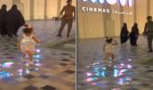 بالفيديو.. موقف عفوي طريف من طفلة لرجل أمن في إحدى مناطق المملكة