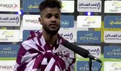 بالفيديو .. علي مجرشي: بـ 10 لاعبين فزنا ولم نشعر بأي شيء أثناء طرد روسي