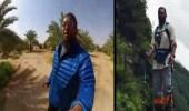 """بالفيديو .. قصة أول مواطن في العالم يصعد قمة """"كلمنجارو"""" بكلية واحدة"""