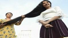 شاهد.. صاحبة أطول شعر بالعالم تقص شعرها لأول مرة منذ 12عامًا