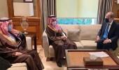 وزير الخارجية يحمل رسالة من خادم الحرمين الشريفين لملك الأردن