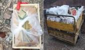 ضبط شحنة مواد متفجرة على متن 4 سيارات قبل وصولها للحوثيين
