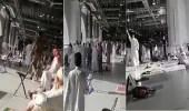 فيديو لشخص يطلق عبارات مؤيدة لتنظيمات إرهابية في الحرم