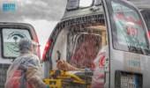 بين حالات مرضية وحوادث مرورية..الهلال الأحمر يباشر 142 بلاغا بسبب أمطار مكة