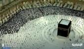 شاهد.. امتلاء صحن الطواف بالمسجد الحرام في مشهد مهيب