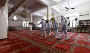 إغلاق 10 مساجد مؤقتاً في 5 مناطق بعد ثبوت 10 حالات إصابة كورونا