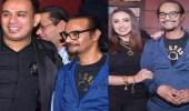 صور..أنغام ونجوم الموسيقى في ضيافة رابح صقر بالقاهرة