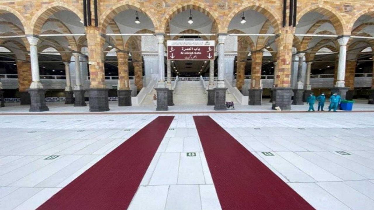 تخصيص 800 مشاية بلاستيكية للإرشاد المكاني بالمسجد الحرام