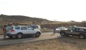 دوريات المجاهدين بمنطقة جازان تقبض على عدد من المهربين