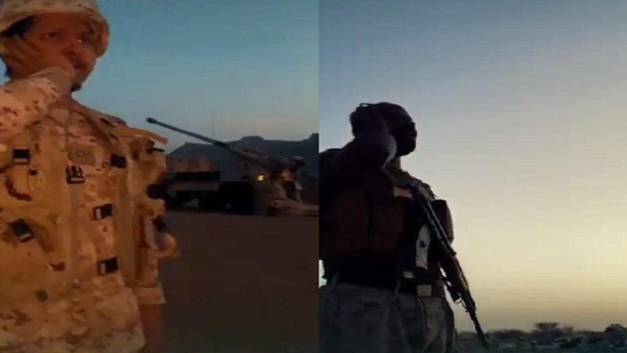 شاهد .. أصوات الأذان بحناجر أبطال الحد الجنوبي