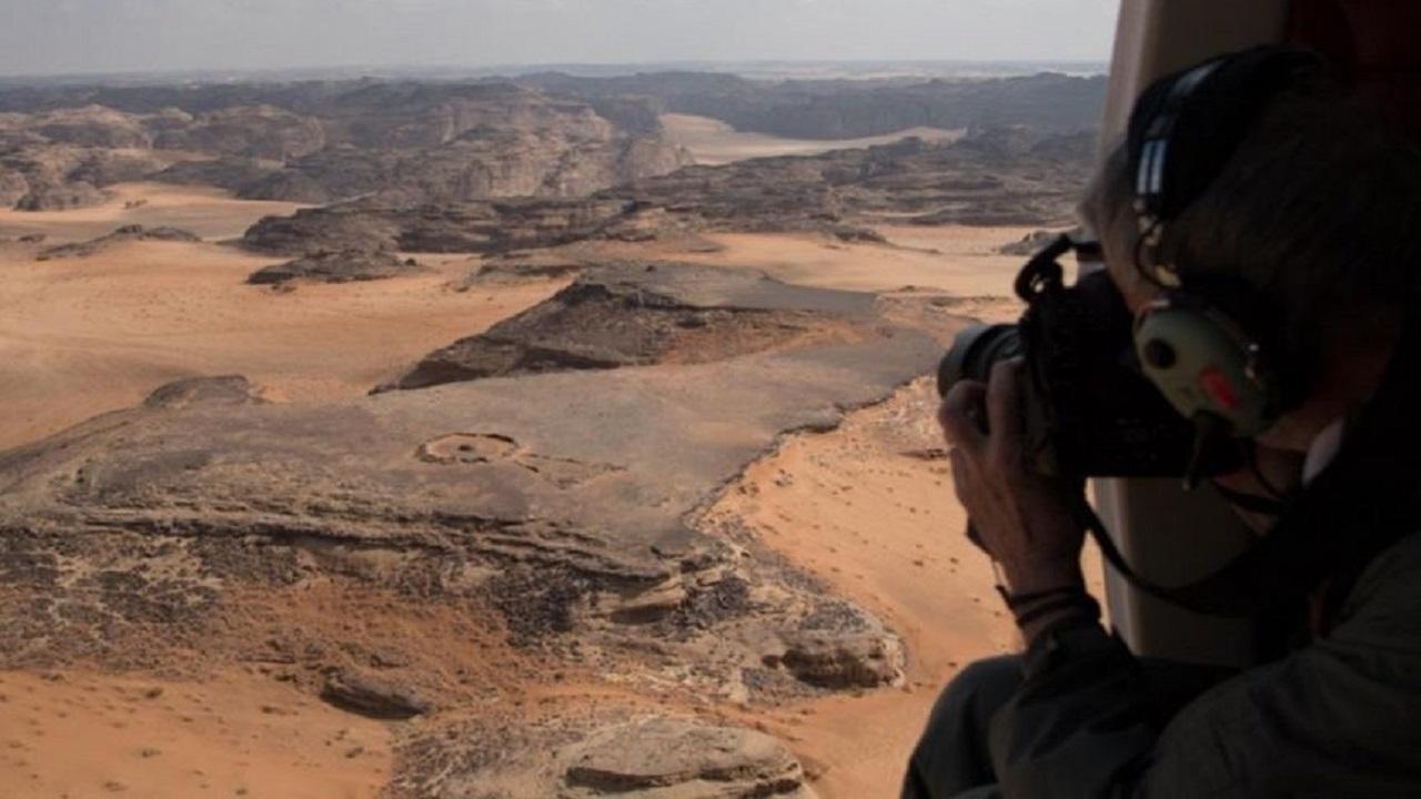 بالفيديو .. اكتشاف أحد أقدم الهياكل الحجرية الضخمة في العلا