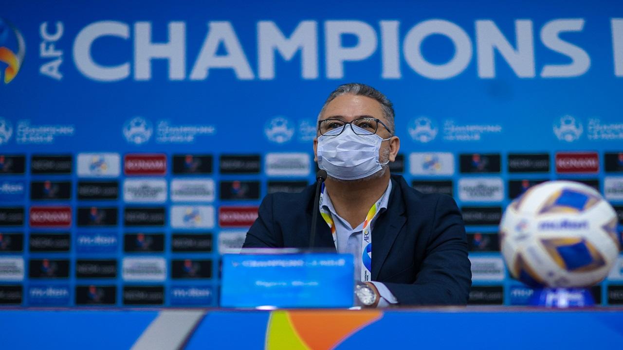 ميكالي قبل مواجهة أجمك الأوزبكي : استعدينا جيداً وسنسعى للفوز غدًا