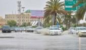 المسند: حالة مطرية على 3 مناطق