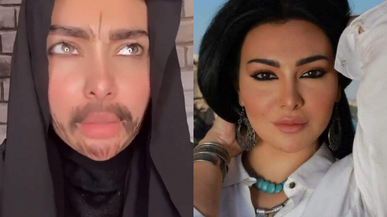 شاهد.. ميرهان حسين بشارب ولحية