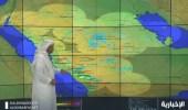 بالفيديو.. توقعات لأمطار رعدية مصحوبة برياح نشطة على بعض المناطق