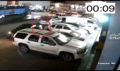 شاهد.. لص يسرق سيارة في وضع التشغيل بالرياض