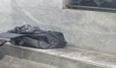 العثور على حقيبة سوداء أمام بنكبداخلها أشلاء بشرية