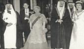 صورة تاريخية للملك خالد مع الأمير فيليب
