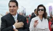الحكم بحبس زوجة الرئيس التونسي زين العابدين بن علي وابنته