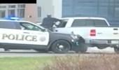 بالفيديو.. مطاردة مثيرة بين ضابط شرطة ومشبه به بسبب كمامة