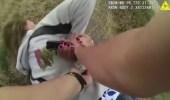بالفيديو.. لحظة سحل عجوز وكسر ذراعها بواسطة ضابطي شرطة