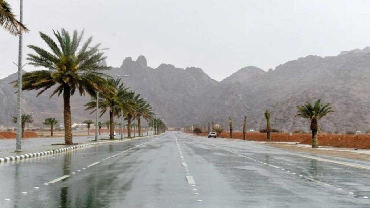 الحصيني: أمطار غزيرة وحبات برد على عدة مناطق