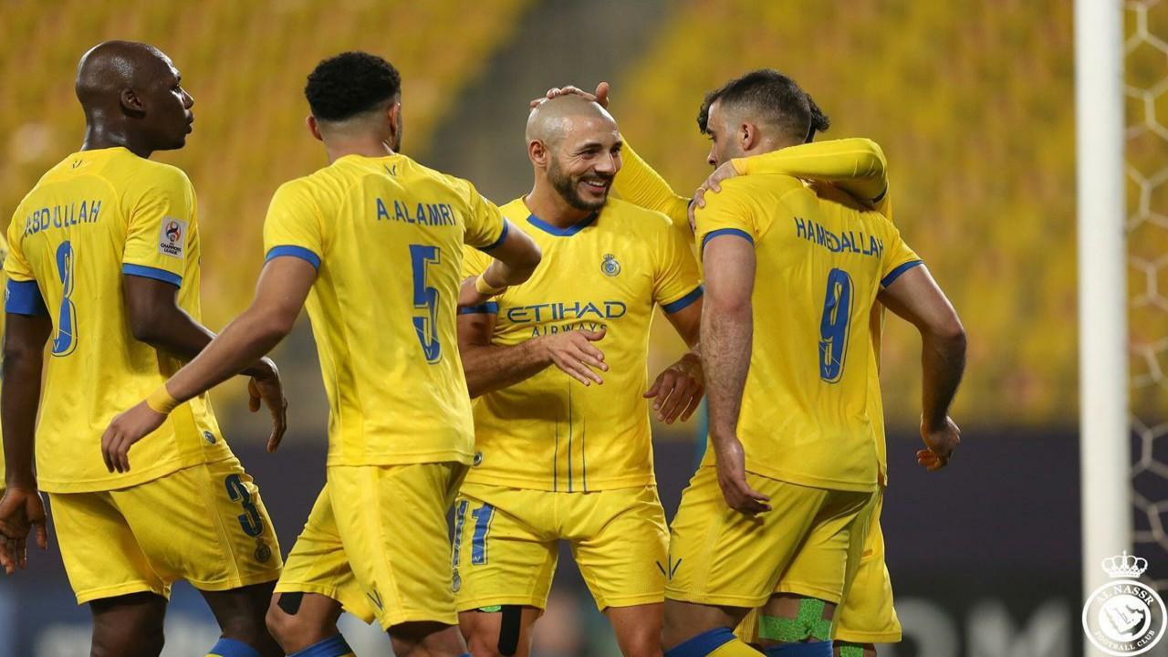 النصر يسجل أول انتصاراته من بوابة السد في دوري أبطال آسيا