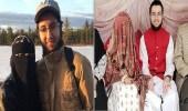 مسيحي كندي يعتنق الإسلام ويتزوج من منقبة