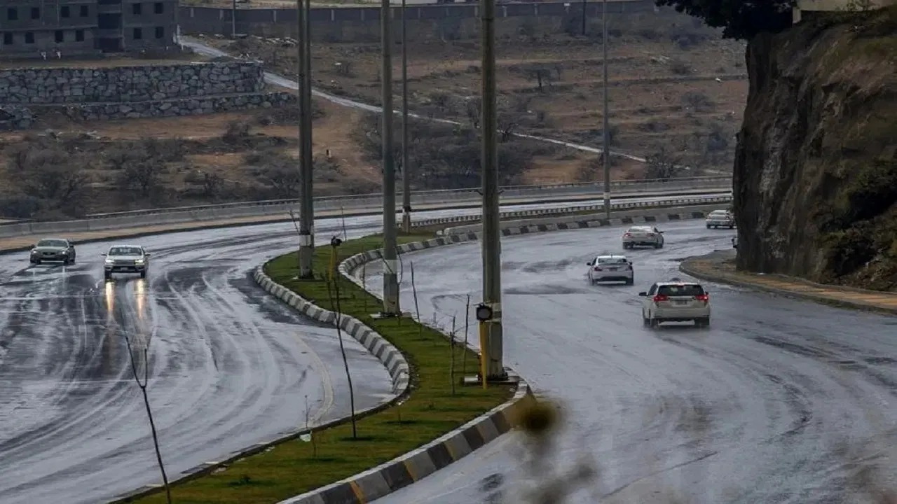الحصيني: أمطار وحبات برد على 9 مناطق