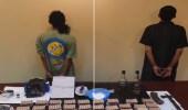 بالفيديو .. القبض على مواطنين بحوزتهما سلاح وحشيش و ذخائر حية