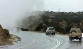 الأرصاد: أمطار متوسطة إلى غزيرة على منطقة الباحة