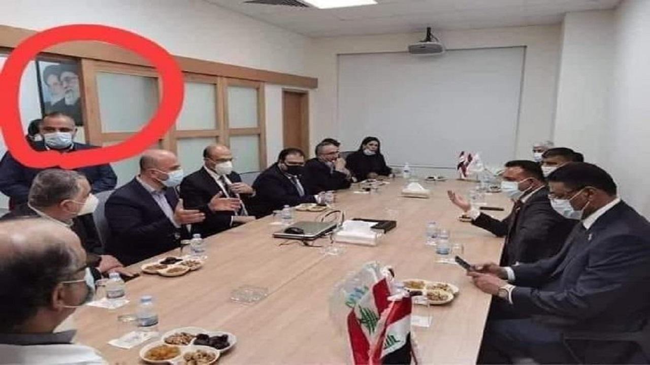 صورة لاجتماع بين مسؤولين عراقيين ولبنانيين تثير الجدل