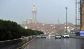 أمطار رعدية على عدد من محافظات مكة المكرمة