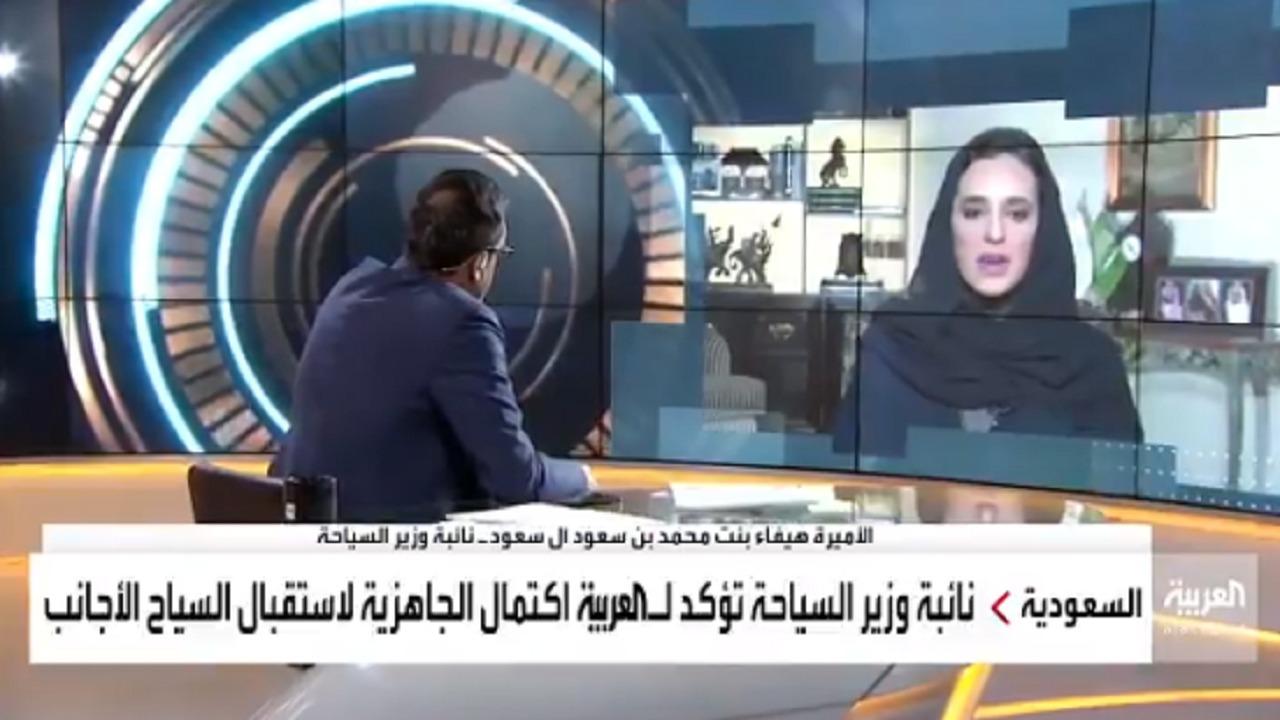 بالفيديو.. نائبة وزير السياحة: جاهزين لاستقبال السياح الأجانب