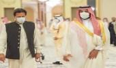 صدور بيان مشترك إثر زيارة رئيس وزراء باكستان للمملكة