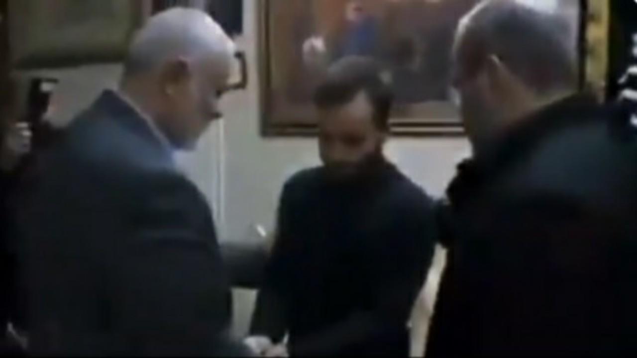 """شاهد.. وسيم يوسف يشارك فيديولـ""""إسماعيل هنية"""" في منزل سليماني"""