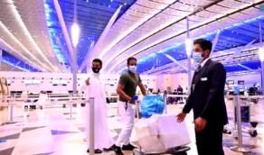 بالفيديو.. اجراءات احترازية مكثفة بمطار الملك عبدالعزيز الدولي في جدة