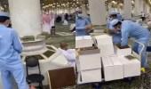 بالفيديو.. لحظة إعادة المصاحف إلى الحرمين بعد رفعها احترازيًا