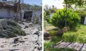 شاهد.. غارة إسرائيلية تحول مزرعة عائلة فلسطينية في غزة إلى أكوام من الحجارة