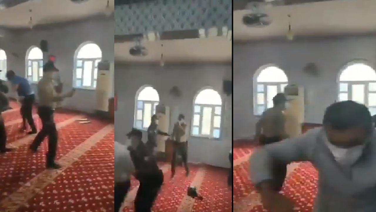 بالفيديو.. الشرطة التركية تستخدم غاز الفلفل الحار على المصلين داخل المساجد