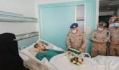 بالصور.. رئيس هيئة الأركان العامة يزور مصابي القوات المسلحة وينقل لهم تحيات القيادة