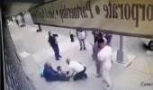 بالفيديو.. لحظة نجاة طفل بأعجوبة أثناء سقوطه من الطابق الخامس