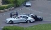 شاهد.. هجوم وحشي من عصابة ملثمة على سائق لسرقته