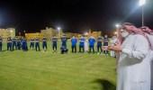 بالصور.. أمير القصيم يحفز لاعبي التعاون قبل نهائي كأس الملك